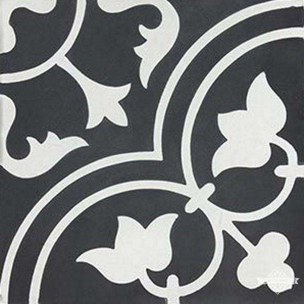 Arte Negro tegel | Retrotegel.nl