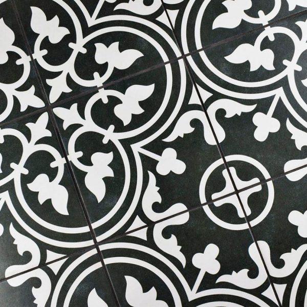 Arte Negro Vloer 3 | retrotegelwinkel.nl